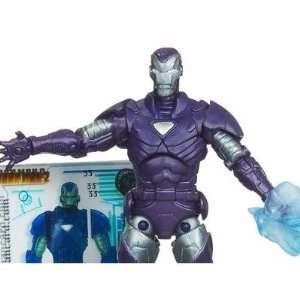 Iron Man 2 Comic Series 4 Inch Action Figure #33 Arctic Armor Iron Man
