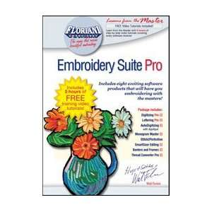 Suite Pro Embroidery Software w/ Free Tutorials Arts, Crafts & Sewing