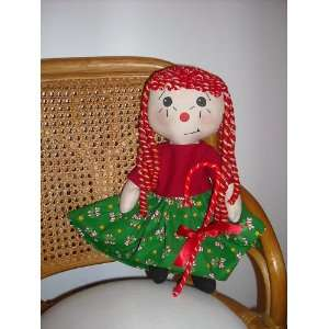 Sewing Pattern Candy Cane Callie Rag Doll Arts, Crafts & Sewing