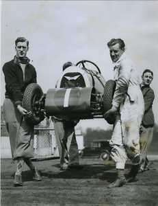 Midget Speedway Car Crystal Palace 1935 Race Photo