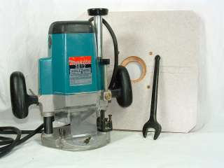 Makita 3612 3 1/4 hp Heavy Duty Plunge Wood Router Used Routers