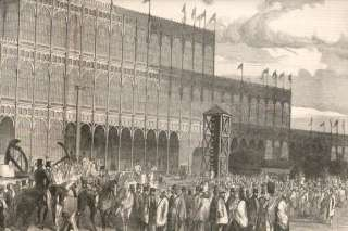 1851 Antique Print Great Exhibition Crystal Palace (C)