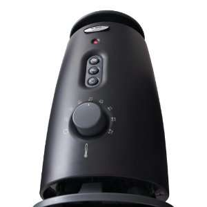 Whrilpool Centrifugal Fan Assisted Ceramic Heater (Black
