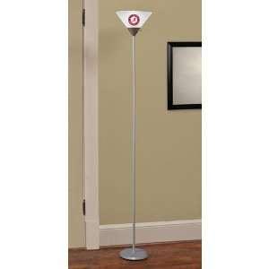 Company Alabama Crimson Tide Torchiere Floor Lamp
