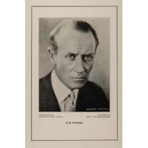 1927 Silent Film Star H. B. Warner Cecil B. De Mille