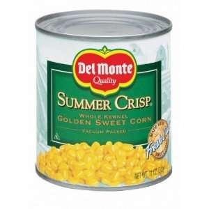 Del Monte Corn Summer Crisp Whole Kernel Golden Sweet   24 Pack