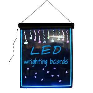 Catering Menu Led Message Signs Led Chalk Board Office