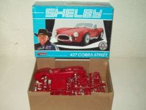MONOGRAM SHELBY 427 COBRA STREET CAR MODEL KIT