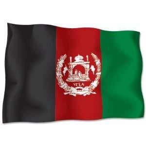 AFGHANISTAN Flag car bumper sticker decal 6 x 4