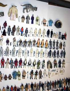 380 Vintage Star Wars Action Figures Huge Lot weapons accessories