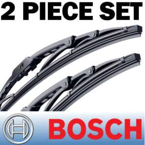 BOSCH DIRECT FIT WIPER BLADES FRONT LEFT+RIGHT 21/21