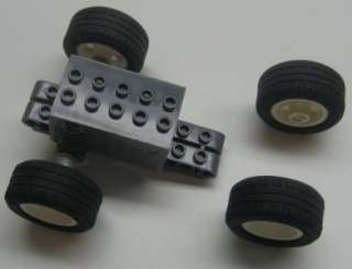 LEGO PULL BACK TECHNIC MOTOR 4 wheels cars trucks vehicle wind up
