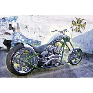 WEST COAST CHOPPERS POSTER CUSTOM XL JESSE JAMES ST3332