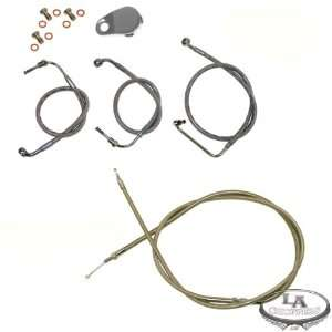 Cable Kit STOCK LENGTH   FLHR Road King 96 to 07