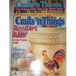 2003 Crafts N Things   September, October and May Clapper Books