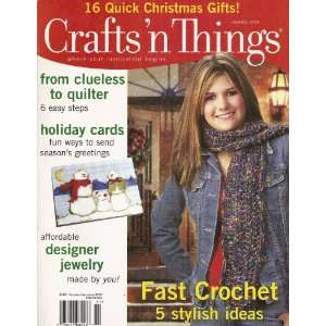 Crafts n Things Magazine (November 2005/Volume 31, No. 2): Books