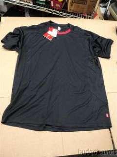 Mens Cycling Bike T Shirt Size L Black 6411 3054 719676941080
