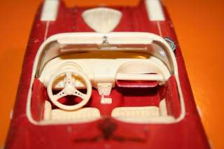 AMT 1960 Chevrolet Corvette Convertible Built Model Cars