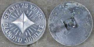 1961 Pin~ Roebuck 75 Years Diamond Jubilee