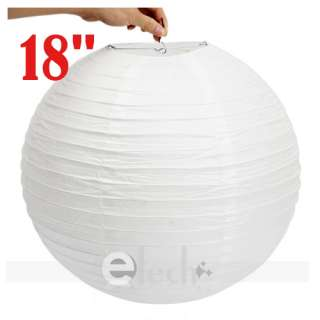 10 X White Chinese Paper Ball Lantern Wedding Party Decorations 18