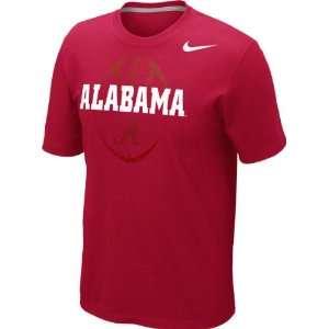 Alabama Crimson Tide Crimson Nike 2012 Football Team Issue