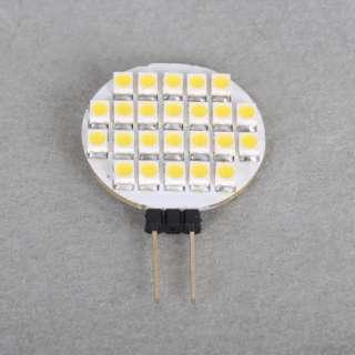 G4 24 3528 SMD LED RV Marine Light Lamp White 12V Spot