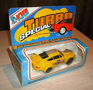 Greek Turbo Special Racing CAR TOY made by KIBI  Friction Powered (New