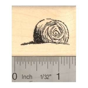 Hay Bale Rubber Stamp, round bale Arts, Crafts & Sewing