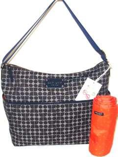 NWT Kate Spade Yorkville denim Serena Baby Diaper Bag Classic Noel NEW