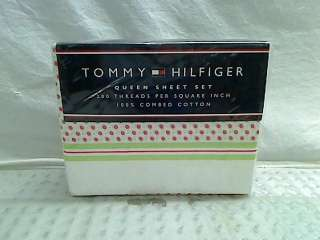Tommy Hilfiger Claire Sheet Set, Queen $107.00 TADD