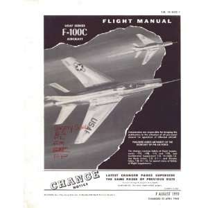 100 C Aircraft Flight Manual   1960 Sicuro Publishing Books