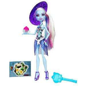 MONSTER HIGH DOLL SKULL SHORES ABBEY BOMINABLE SHIP WORLDWIDE