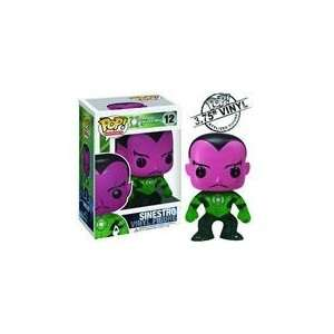 Funko Green Lantern Pop! Heroes 12   Sinestro Toys