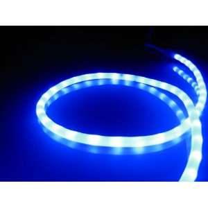 Lights; Royal Blue LED Rope Light Kit; 1.0 LED Spacing; Christmas