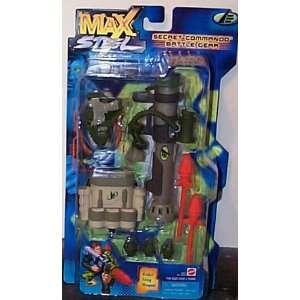 Max Steel Secret Commando Battle Gear Toys & Games
