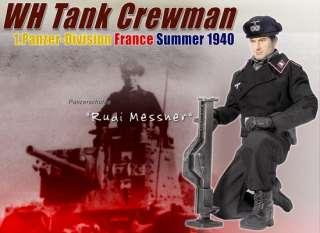 Dragon WWII German Rudi Messner WH Tank Crewman Panzer Division