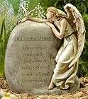 In Loving Memory Angel memorial plaque cemetery grave or garden
