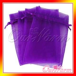10x15cm Strong Sheer Organza Pouch Wedding Favor Gift Candy Bag