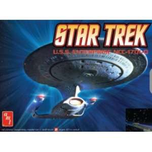 2500 Star Trek USS Enterprise NCC1701(Snap Kit) (Pl Toys & Games