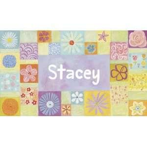 Oopsy daisy Flower Girl Wall Art 24X12