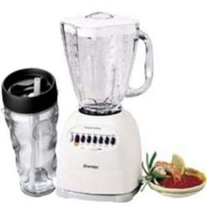 OSTER 14 SPEED BLENDER W CUP  WHITE (6753): Electronics