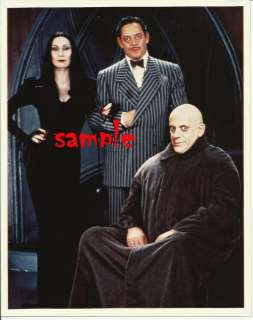 Addams Family Movie Gomez Morticia Fester Lloyd Photo