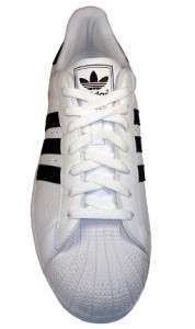 ADIDAS ORIGINALS Mens Shoes SUPERSTAR II 355533 WHITE/BLACK