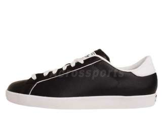Adidas Originals Rod Laver Vin Lux Black Leather White Mens Casual