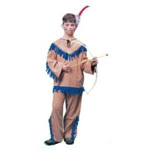 Native American Indian Warrior Child Costume Size Small 4