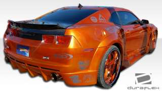 10 12 Chevy Camaro Hot Wheels Widebody DURAFLEX Rear Body Kit