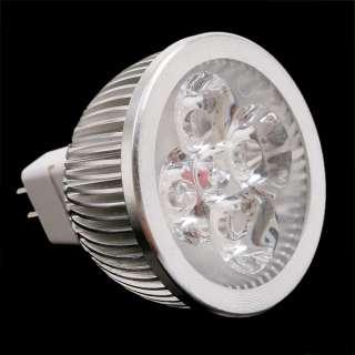4W GU5.3 MR16 12V Warm White LED Light Lamp Bulb Spotlight