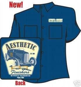 Aesthetic Finishers 32 Salt Flat Ford Hot Rod Workshirt
