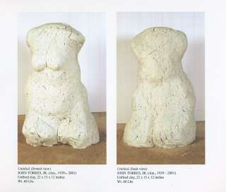 JOHN TORRES sculpture black artist african american art