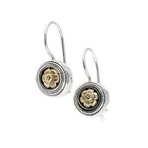 Anatoli Sterling & Gold Flower Earrings Anatoli Jewelry